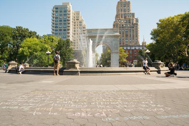 Główna siedziba New York University na Washington Square.