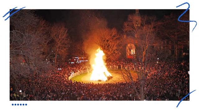 Ognisko w Princeton University